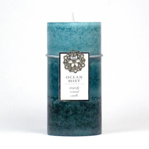 Ocean Mist Pillar Candle 3X6