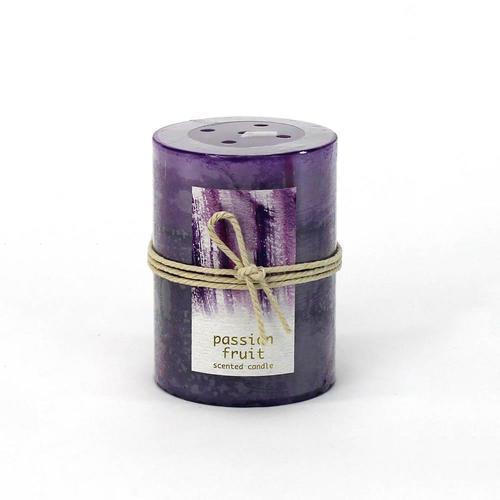 Passion Fruit Pillar Candle 3X4