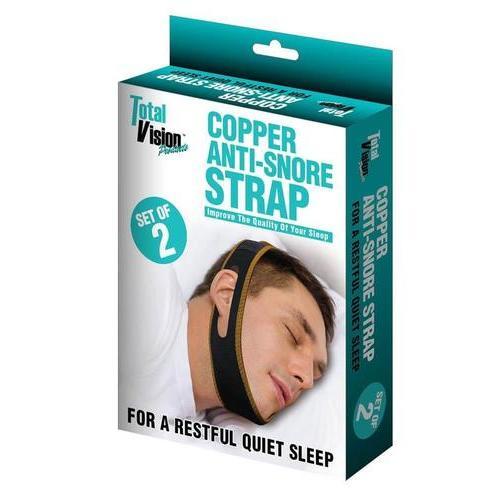 Copper Anti-Snore Strap Set
