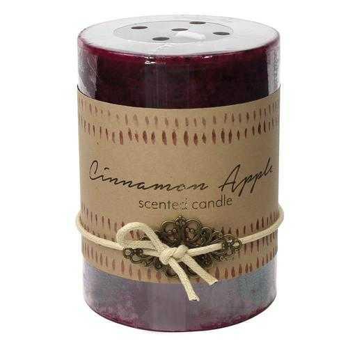 Cinnamon Apple Pillar Candle 3X4