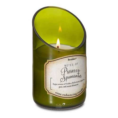 Wine Bottle Prosecco Scented Candle