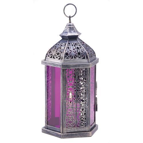 Enchanted Amethyst Candle Lamp