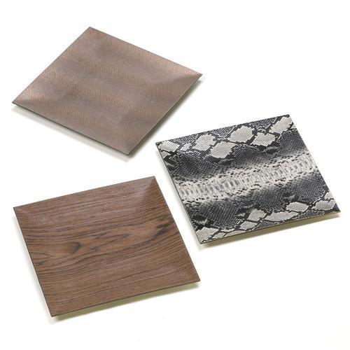 Wild Print Decorative Plates