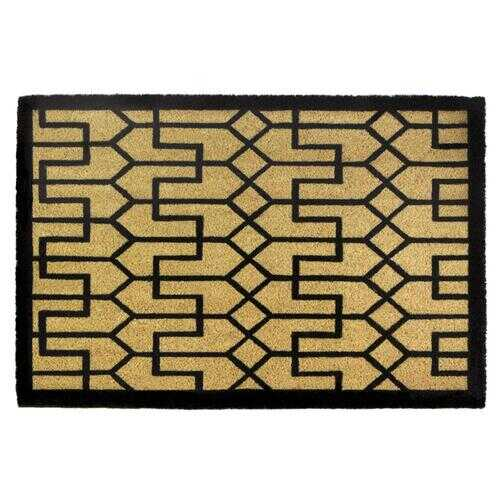 Buchanan Art Deco Coir Doormat
