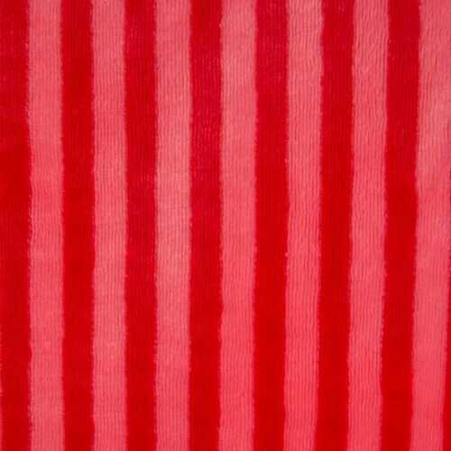 Throw Stripe Red 50X60