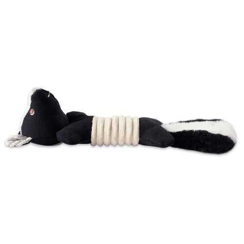 Skunk Squeaky Bone Pet Toy