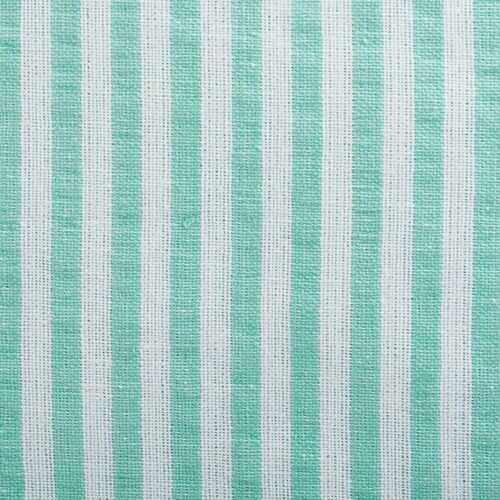 Aqua Seersucker Tablecloth 70 Round