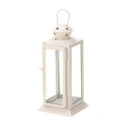 White Starlight Candle Lantern