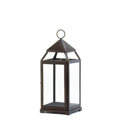 Category: Dropship India, SKU #10016943, Title: Large Bronze Contemporary Lantern
