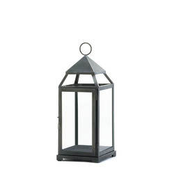 Category: Dropship India, SKU #10016944, Title: Rustic Silver Contemporary Lantern