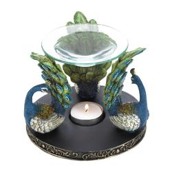 Category: Dropship Oils, SKU #10017518, Title: Peacock Plume Oil Warmer