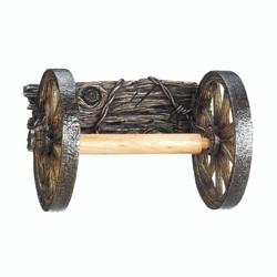 Category: Dropship Bath, SKU #10017549, Title: Wagon Wheel Toilet Paper Holder