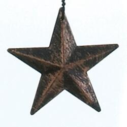 "34"" Bronze Stars Wind Chimes"