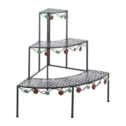 Country Apple 3 Tier Plant Stand