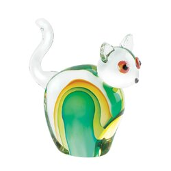 Cat Art Glass
