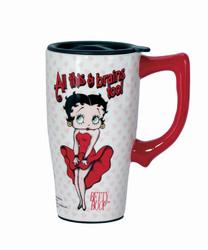 All This & Brains Too Betty Travel Mug
