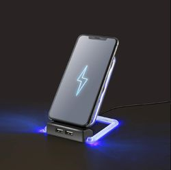 Category: Dropship Tech, SKU #12011127, Title: LED Wireless Phone Charger