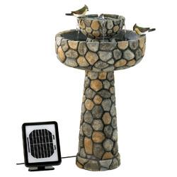 Category: Dropship Patio, Lawn & Garden, SKU #12841, Title: Wishing Well Solar Water Fountain