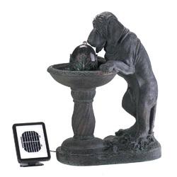 Category: Dropship Patio, Lawn & Garden, SKU #14769, Title: Thirsty Dog Solar Fountain