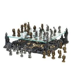 Category: Dropship Myth & Legend, SKU #15190, Title: Dragon Kingdom Chess Set