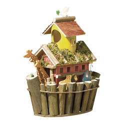 Noah's Ark Bird House