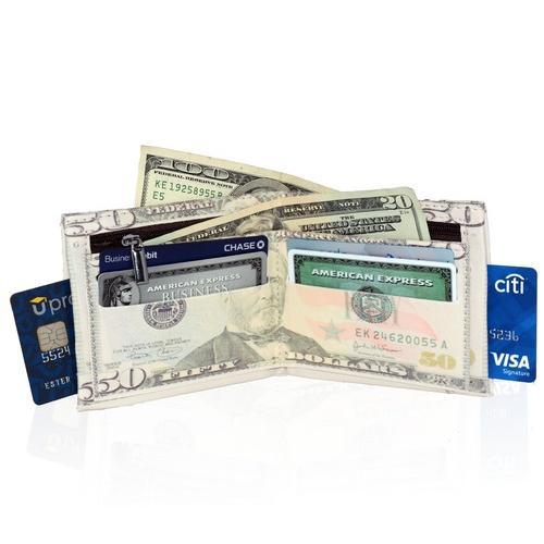 50 Bill Style Men's Billfold Wallet