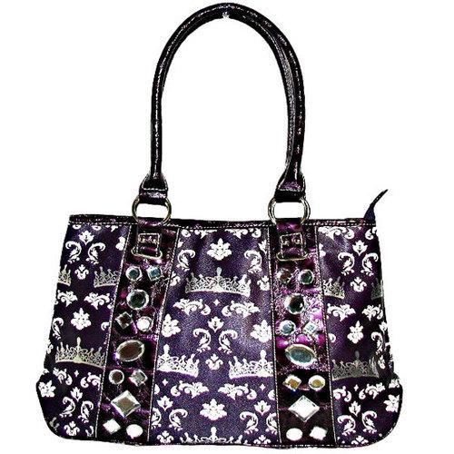 Crown Print Tote Bag