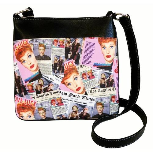I Love LucyTM Collage Messenger Bag