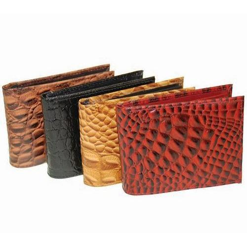 Fashion Croco Print Bi-fold Wallet