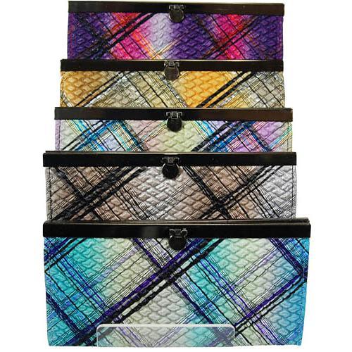 Fashion Flat Frame Wallet