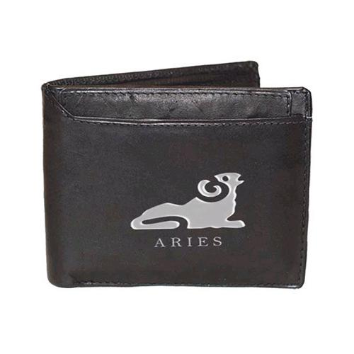 Aries Sign Leather Wallets