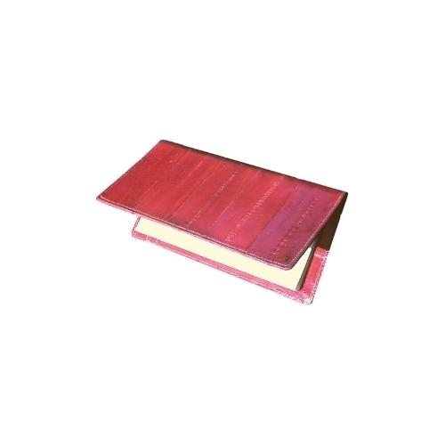 Eel Skin Checkbook cover