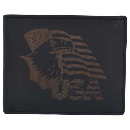 USA Patriotic Eagle Wallet w/ RFID Protection