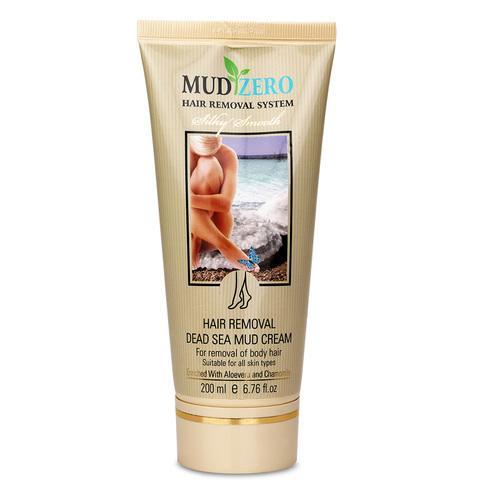 MudZero Women Dead Sea Hair Removal Cream, 50ml