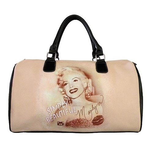 Licensed Marilyn Monroe Weekend Bag