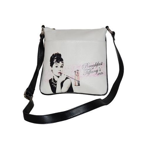 White Licensed Breakfast at Tiffany Messenger Bag