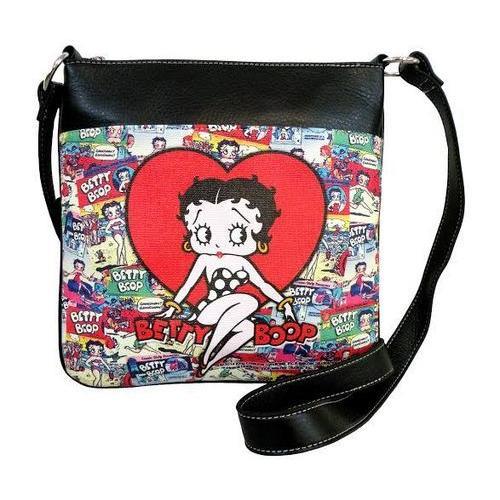 Licensed  Betty Boop Colors Cross body bag