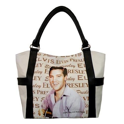 Elvis Presley Shopping Bag