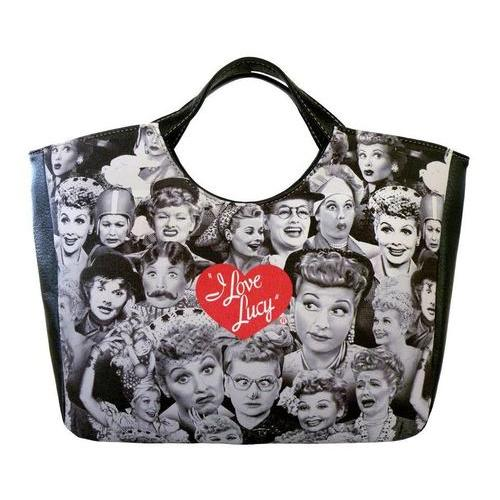 Licensed I Love Lucy Mosaic Lunch Bag