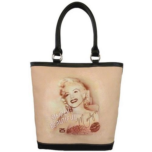 Licensed Marilyn Tote Simply Beatiful