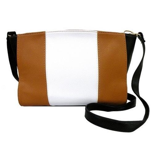 Color Block Fashion Messenger Bag
