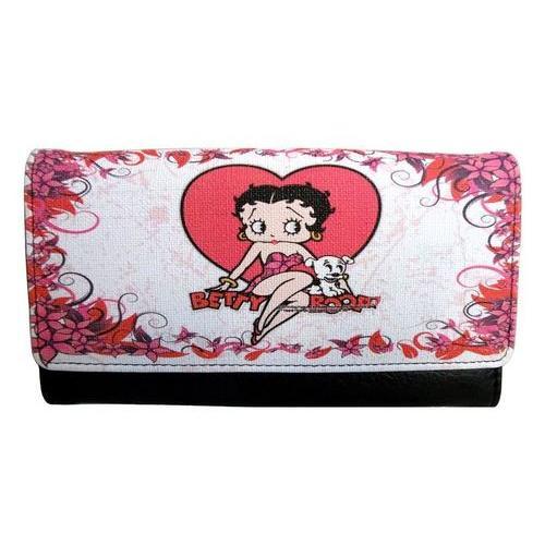 Licensed Betty Boop love Wallet