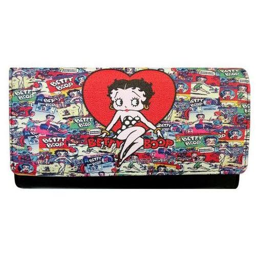 Licensed Betty Boop Heart Wallet