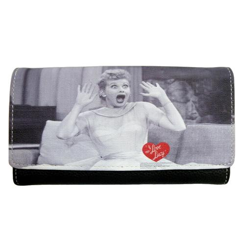 Licensed I Love Lucy Face Wallet