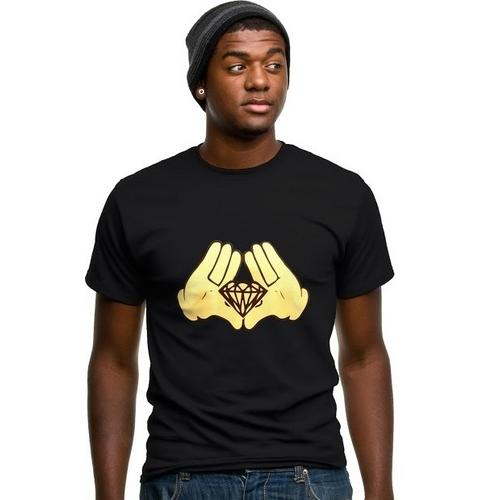 Diamond Cartoon Hands T-Shirt