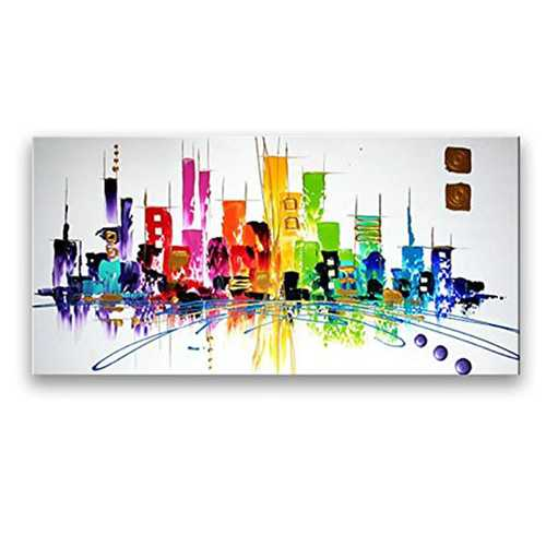 Wall Decor Oil Paintings On Canvas Various Abstract Designs 1 Panels