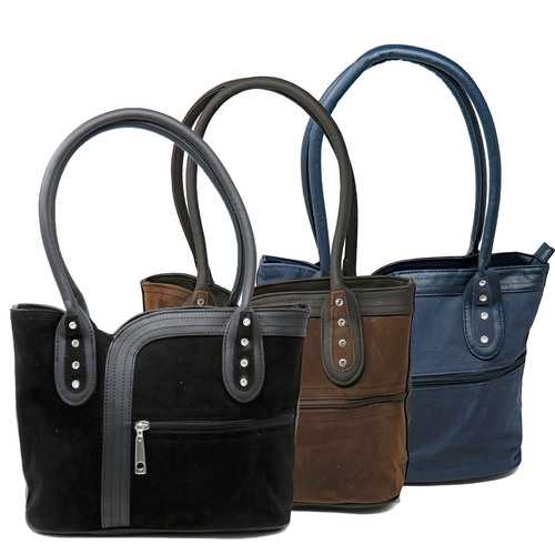 Women Purse Suede Shoulder Bag Casual