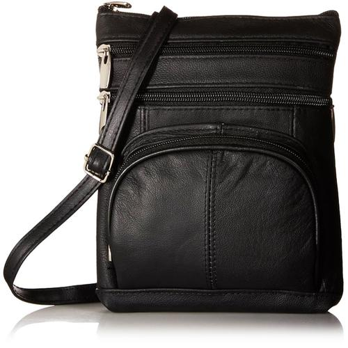 AFONiE Genuine Fashion Geneva Genuine Leather Cross-body Bag