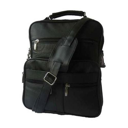 AFONiE-Multi Pockets Leather Handbag