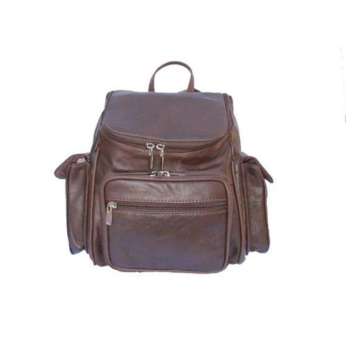 Soft Leather Backpack Travel Bag